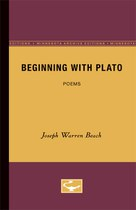 Beginning with Plato: Poems
