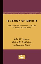 In Search of Identity: The Japanese Overseas Scholar in America and Japan