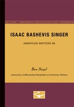Isaac Bashevis Singer - American Writers 86: University of Minnesota Pamphlets on American Writers