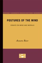 Postures of the Mind: Essays on Mind and Morals