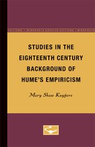 Studies in the Eighteenth Century Background of Hume's Empiricism