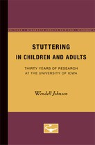 Stuttering in Children and Adults: Thirty Years of Research at the University of Iowa