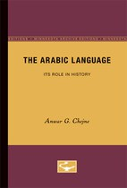 The Arabic Language: Its Role in History