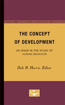 The Concept of Development: An Issue in the Study of Human Behavior
