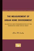 The Measurement of Urban Home Environment: Validation and Standardization of the Minnesota Home Status Index
