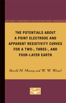 The Potentials About a Point Electrode and Apparent Resistivity Curves for a Two-, Three-, and Four-Layer Earth
