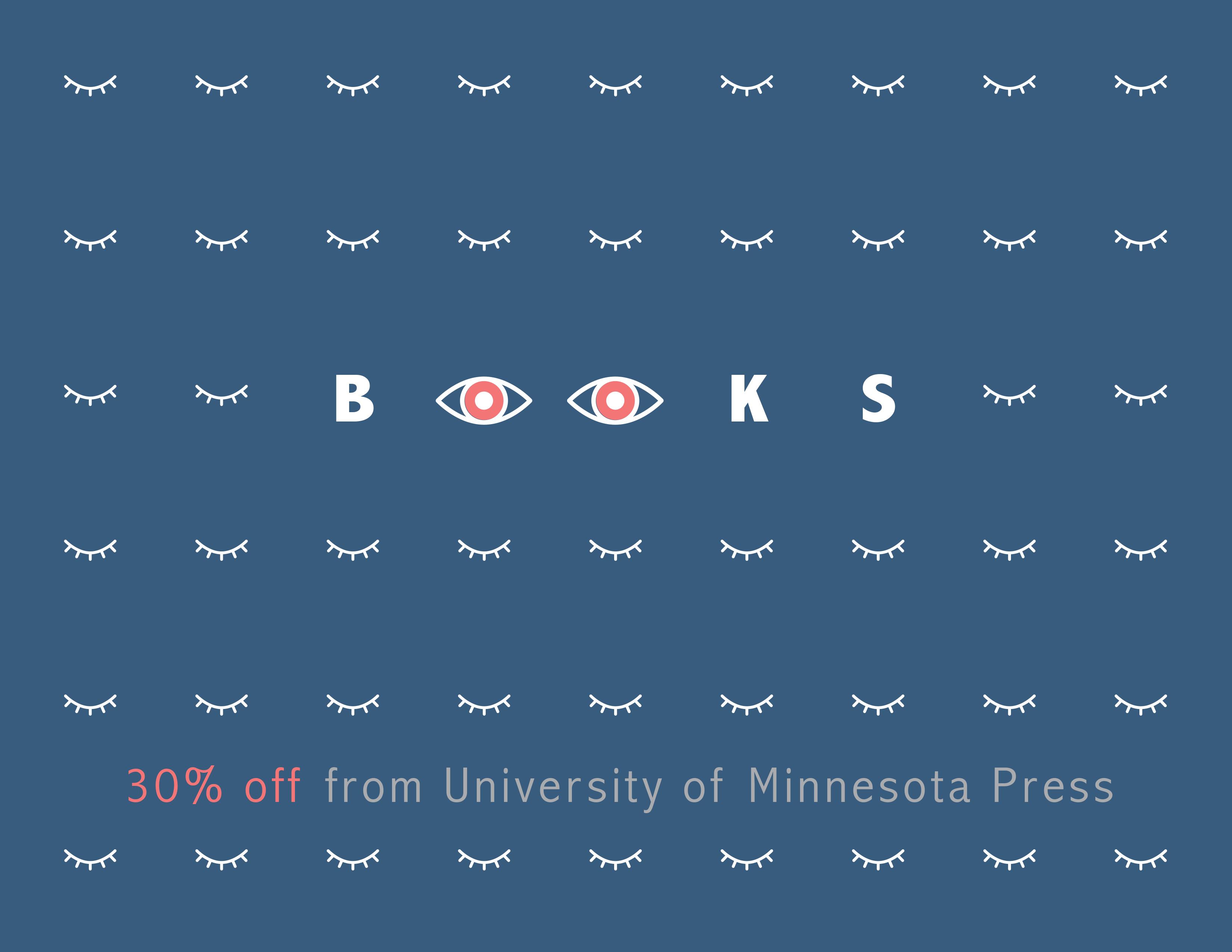 Philosophy, theory, art, media studies—30% off!