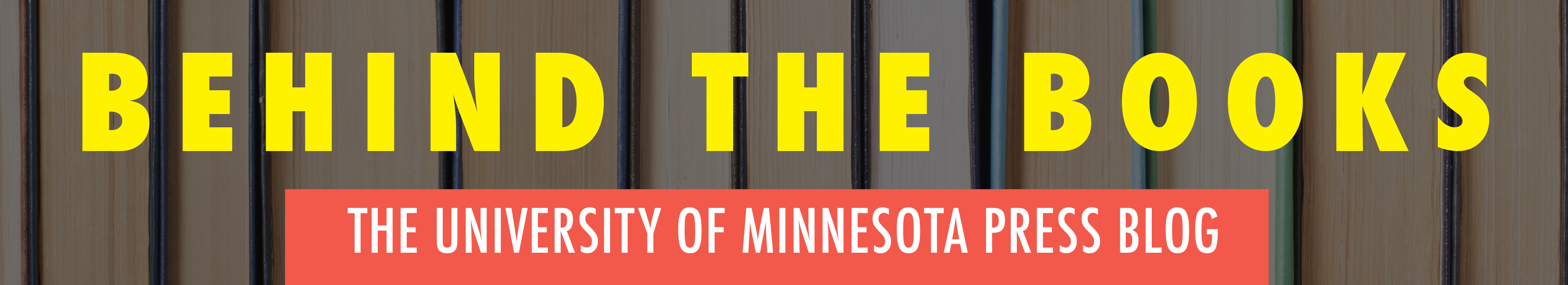 The University of Minnesota Press Blog
