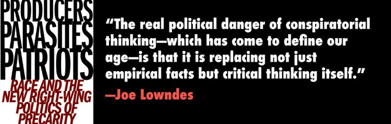 The real political danger of conspiratorial thinking - which has  come to define our age - is that it is replacing not just empirical facts but critical thinking itself.