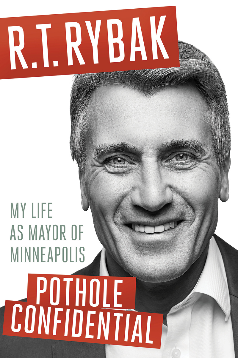 R.T. Rybak book launch for Pothole Confidential at  First Avenue on April 13